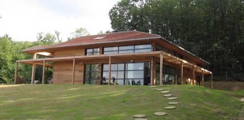 Une autre maison en architecture bioclimatique
