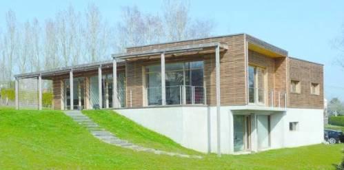 Une maison en architecture bioclimatique